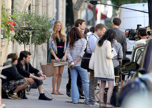 Gossip Girl - Leighton, Ed and Blake - Set fotos