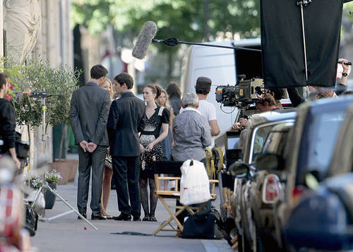 Gossip Girl - Leighton, Ed and Blake - Set foto-foto