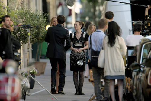 Gossip Girl - Leighton, Ed and Blake - Set foto