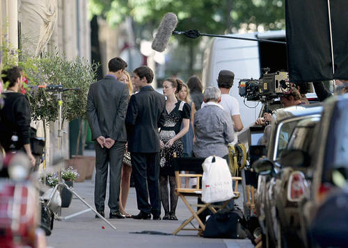 Gossip Girl - Leighton, Ed and Blake - Set foto's