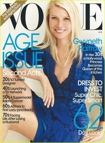Gwyneth Paltrow Covers 'Vogue' August 2010