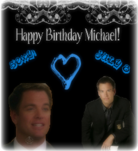 Happy Birthday Michael Weatherly!