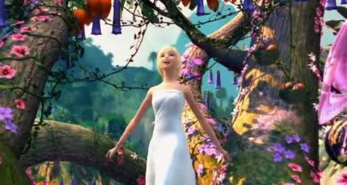 Barbie as the island princess achtergrond titled Here on my island!