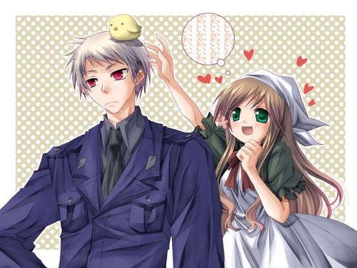 Hetalia couples~!!