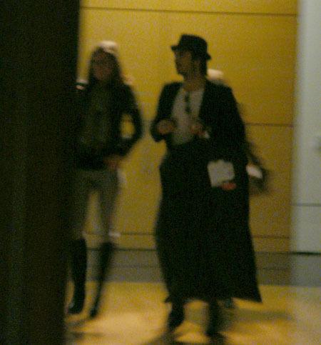 Ian & Nina leving convention