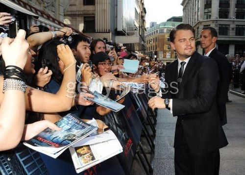 Inception London Premiere