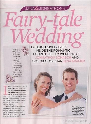 Jana & Jon's Wedding - Scans from Ok! Magazine