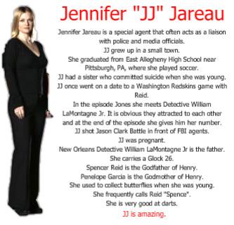 "Jennifer ""JJ"" Jareau - Facts"