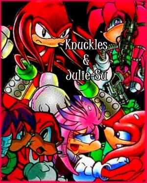Knuckles and Julie-Su