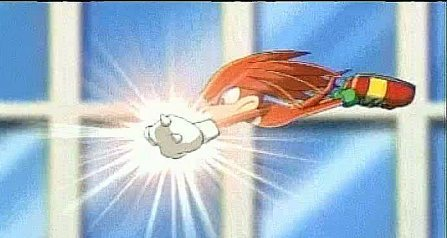 Knuckles flying/gliding