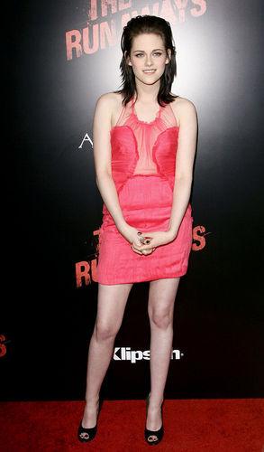 Kristen stewart in various dresses