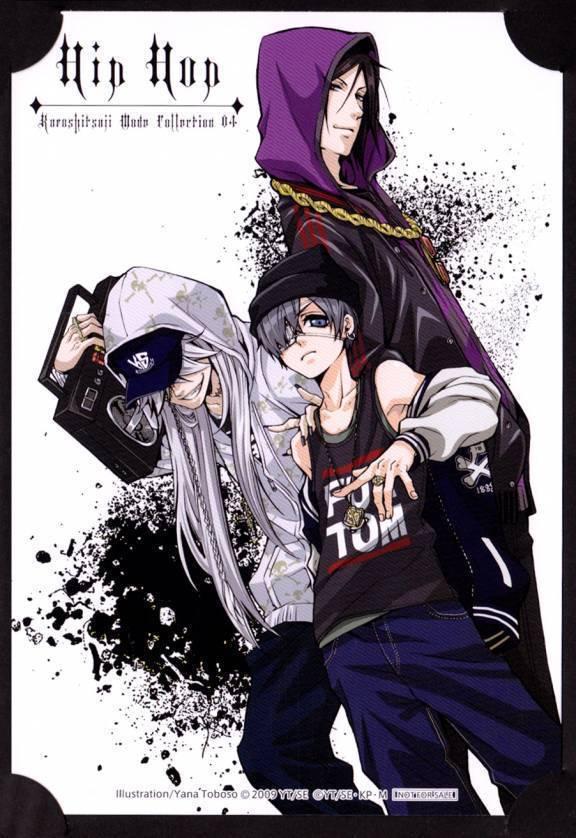 kuroshitsuji - Hip Hop