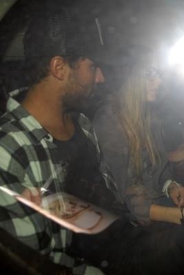 Leaving My Studio Nightclub in Hollywood - 02.07.10
