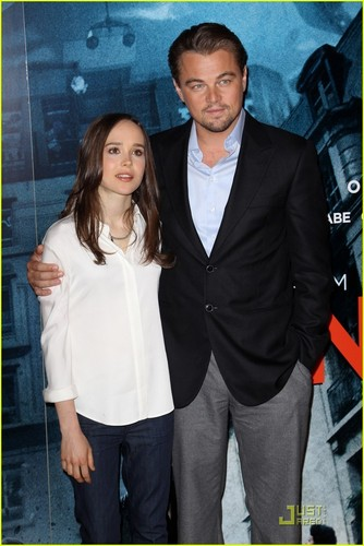 Leonardo DiCaprio & Ellen Page Invade Dreams in Londres