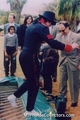 MJ without shoes ahah - michael-jackson photo