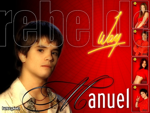 Manuel Aguire - rebelde-way Wallpaper