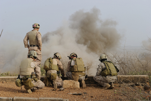 MarSOC Marines Practice Demolitions