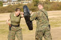 Marine OC Spray Training - marine-corps photo