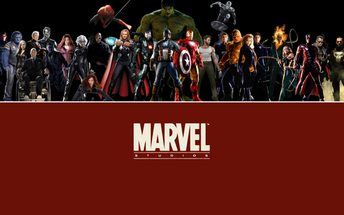 The Avengers-Los Vengadores fondo de pantalla entitled Marvel cine