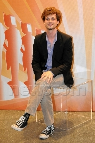criminal minds wallpaper titled Matthew@Roma Fiction Fest 2010