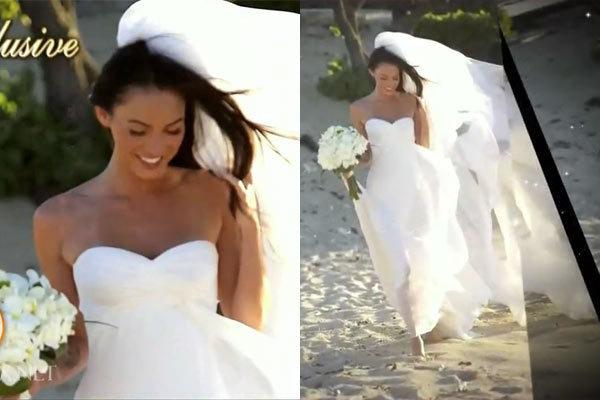 Megan & Brian's Wedding in Hawaii - Megan Fox 600x400