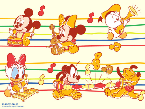 Disney wallpaper titled Mickey Mouse