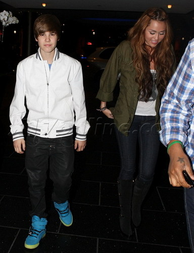 Miley Cyrus and Justin Bieber Make Peace With Sushi