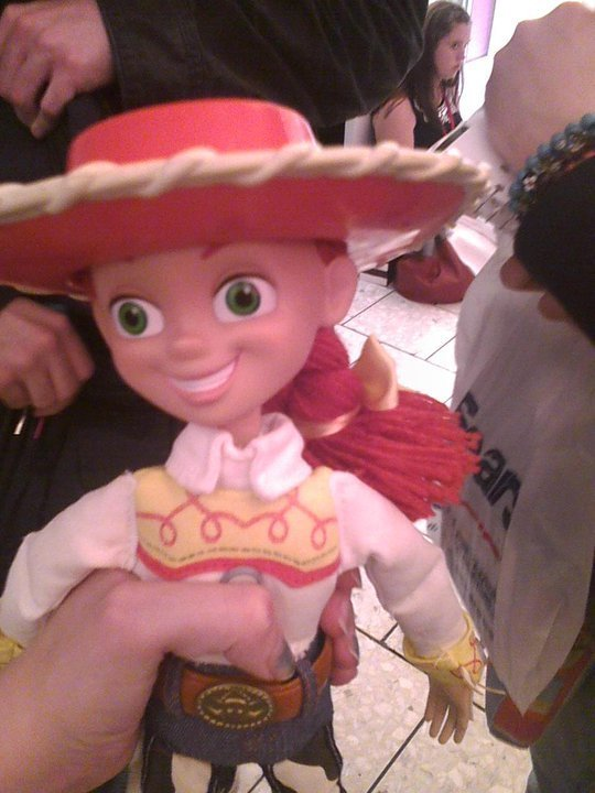 My секунда Jessie doll!