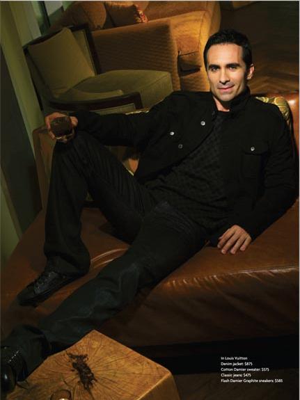 Nestor Carbonell- HI Luxury Magazine june-july 2010