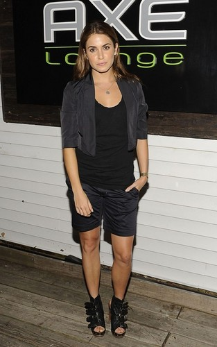 Nikki Reed partying at Axe Lounge (July 4).
