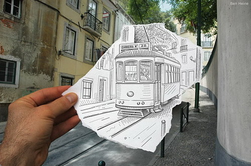 PENCIL VS CAMERA: COOL ART
