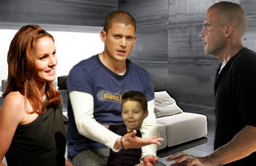 Prison Break - Michael, Lincoln, Sara, MJ