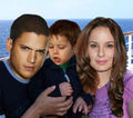 Prison Break - Michael, Sara, MJ  - sara-tancredi photo