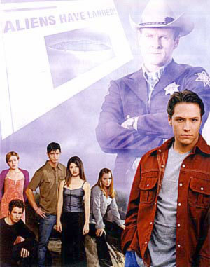 Roswell wallpaper entitled Promotional Photos season 1, cast