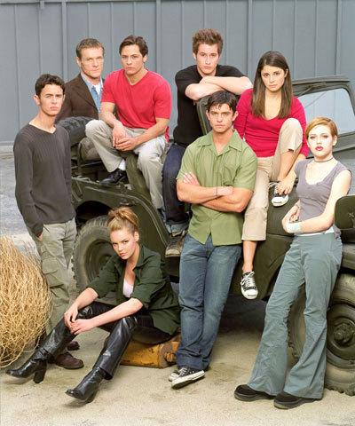Promotional foto's season 1, cast