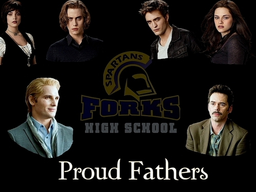 Proud Fathers--Carlisle and Charlie