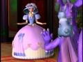 Rapunzel's bulaklak dress