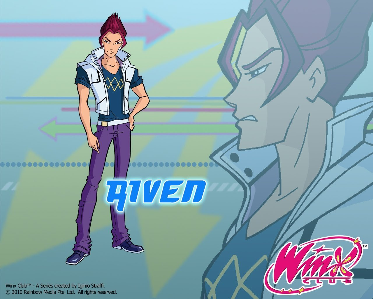 Riven - the-winx-club wallpaper