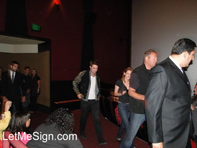 Rob and Kristen at Eclipse Screening in LA