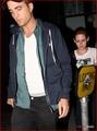 Rob and Kristen leaving Sam's concert last night  - twilight-series photo