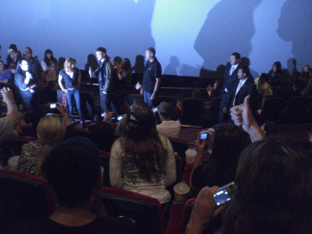 Robert and Kristen at the Eclipse screening in Century City