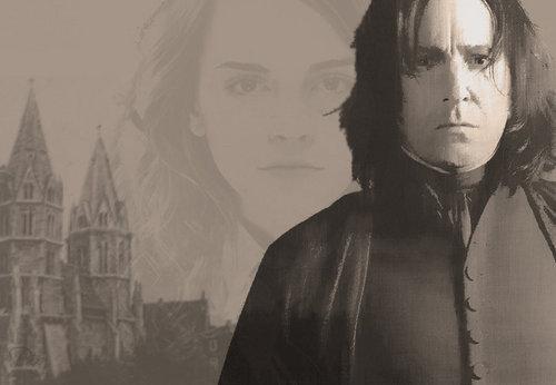 Severus Snape and Hermione Granger