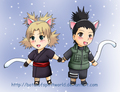ShikaTema Kitty ! - naruto-couples-%E2%99%A5 photo