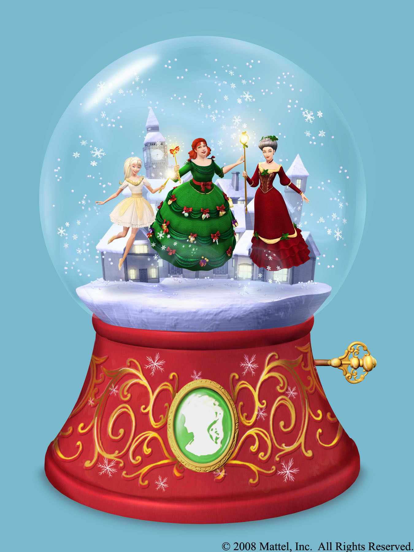 Barbie In A Christmas Carol Images Snow Globe Hd Wallpaper And Background  Photos · Download Image