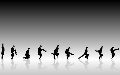 Monty Python wallpaper entitled The Ministry of Silly Walks