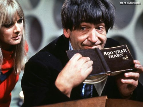 The seconde Doctor- Patrick Troughton
