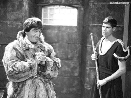 The seconde Doctor- Patrick Troughton