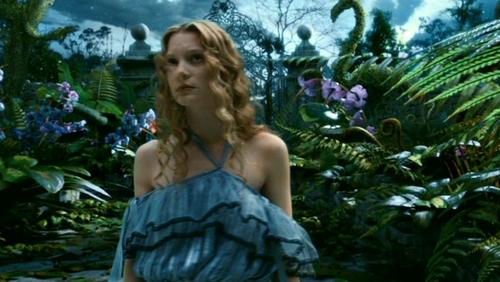 Alice in Wonderland (2010) wallpaper titled Tim Burton's 'Alice In Wonderland'