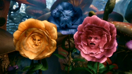 Alice in Wonderland (2010) wallpaper entitled Tim Burton's 'Alice In Wonderland'