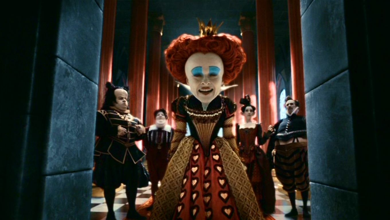 Alice in Wonderland  2010  Tim Burton s  Alice In Wonderland Queen Of Hearts Alice In Wonderland Tim Burton